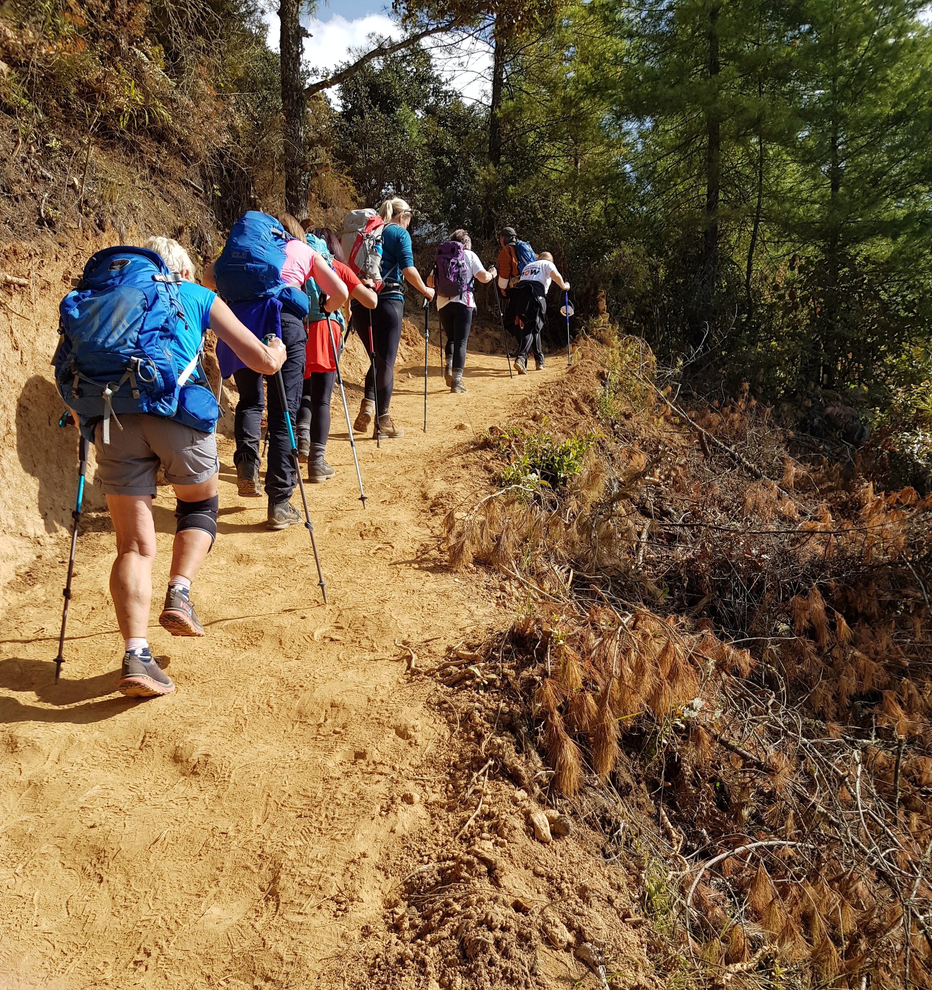bhutan trekkers