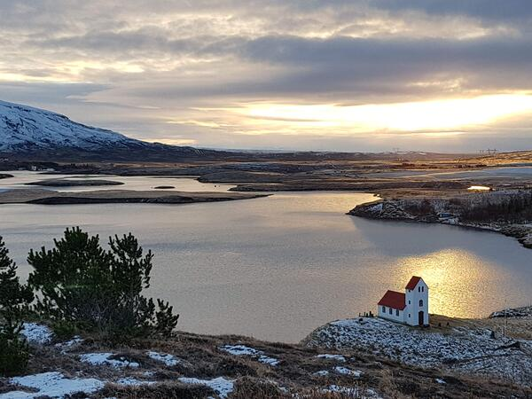 trek iceland - views