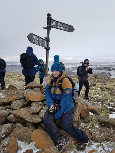 Iceland trek challenge