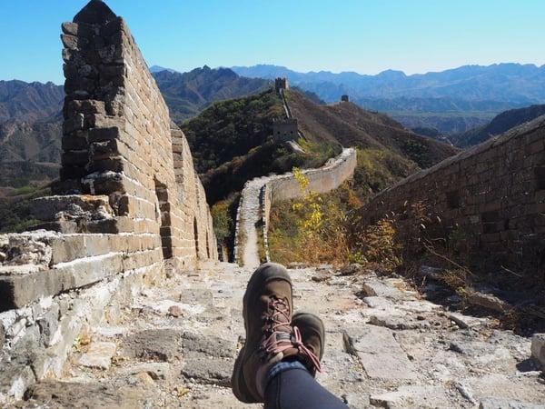 trekking the great wall of china trek