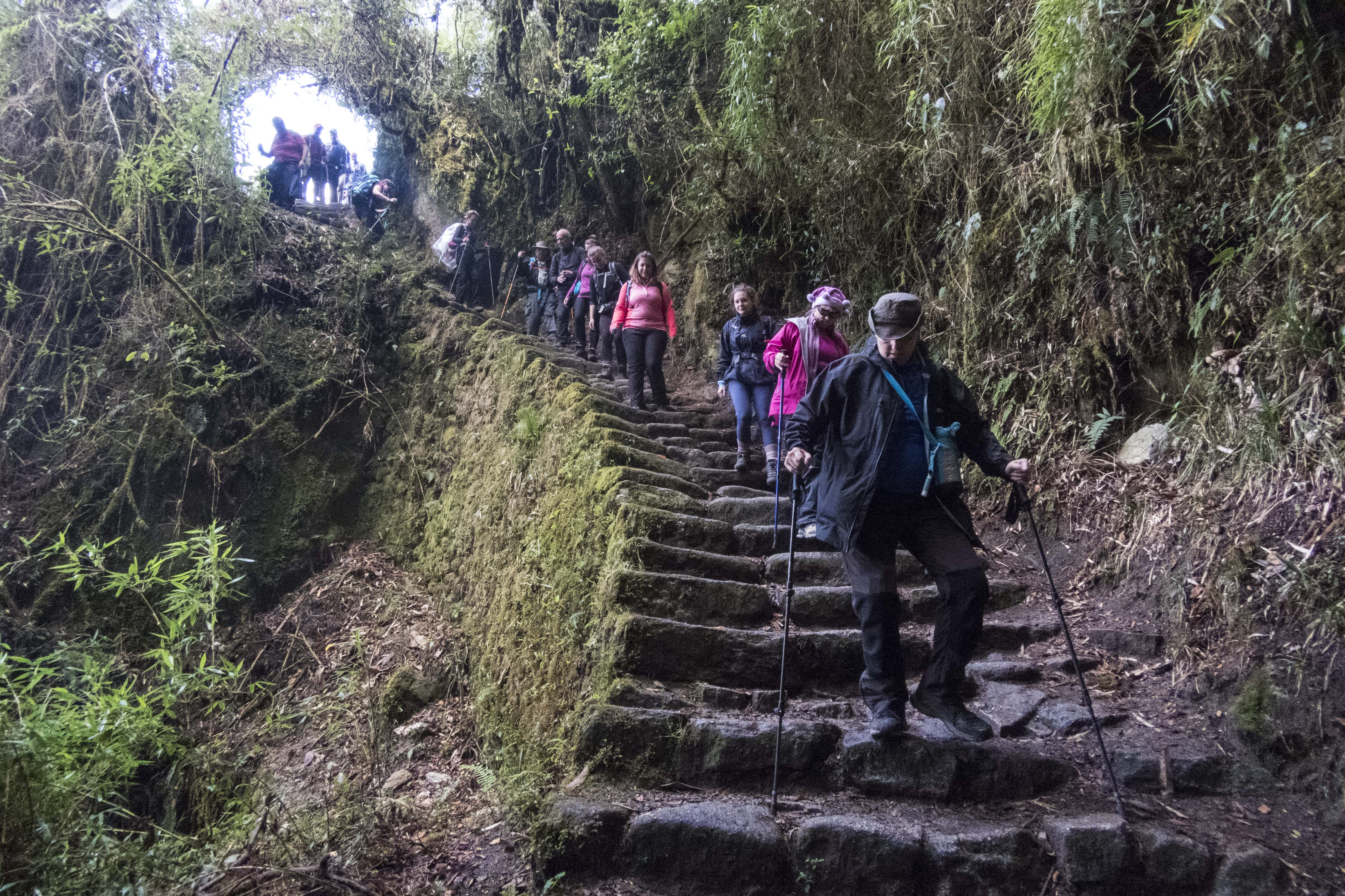 machu picchu trek challenge