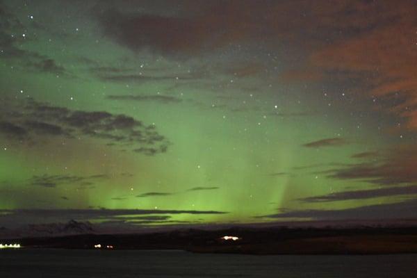northern lights on challenge