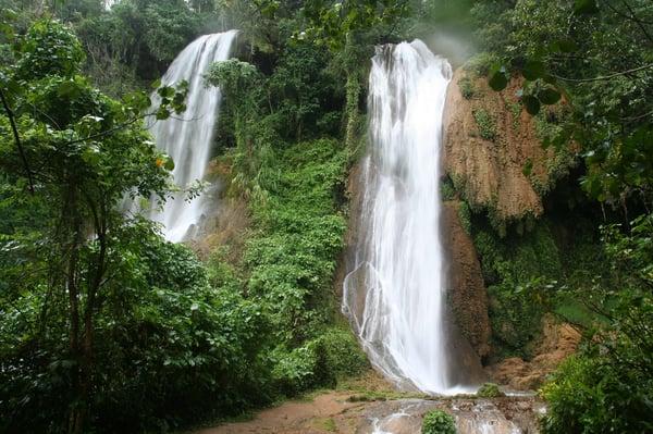 Beautiful waterfalls along the way-min