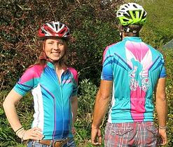 Discover Adventure Cycling Tops Front and Back