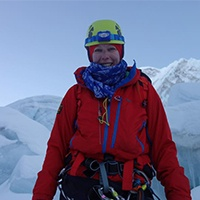 Jo taking on Mount Everest