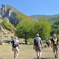 Walking-Albania