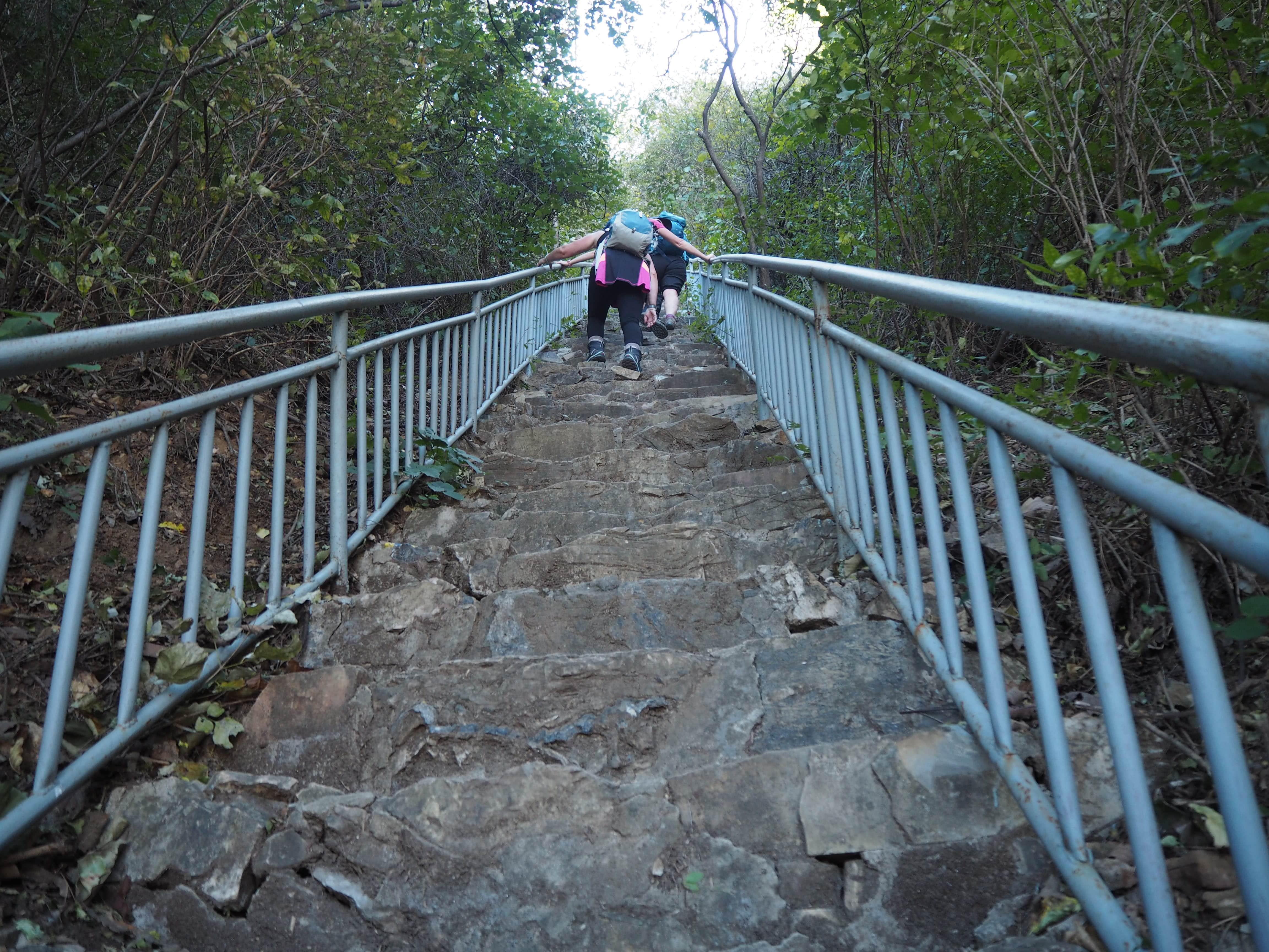 trekking challenge in china