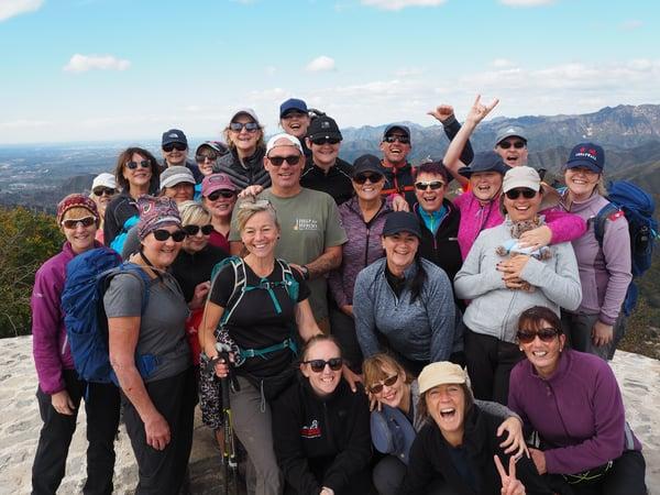 great wall of china trek group