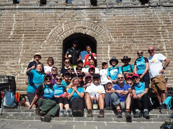 completing the great wall of china challenge