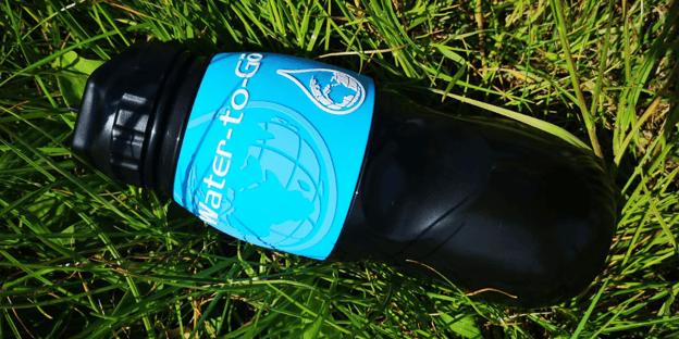 water to go bottle - plastic bottles