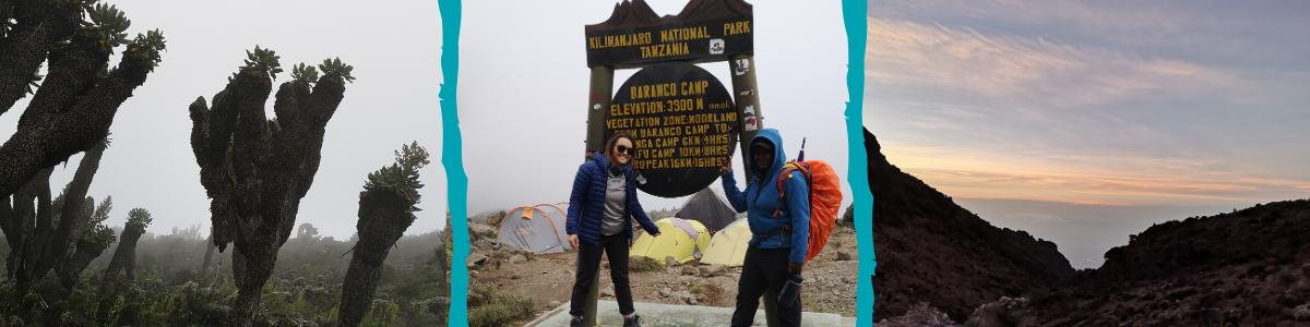 tough trek on kilimanjaro