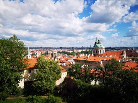 Views across Prague
