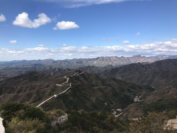 china great wall landscape