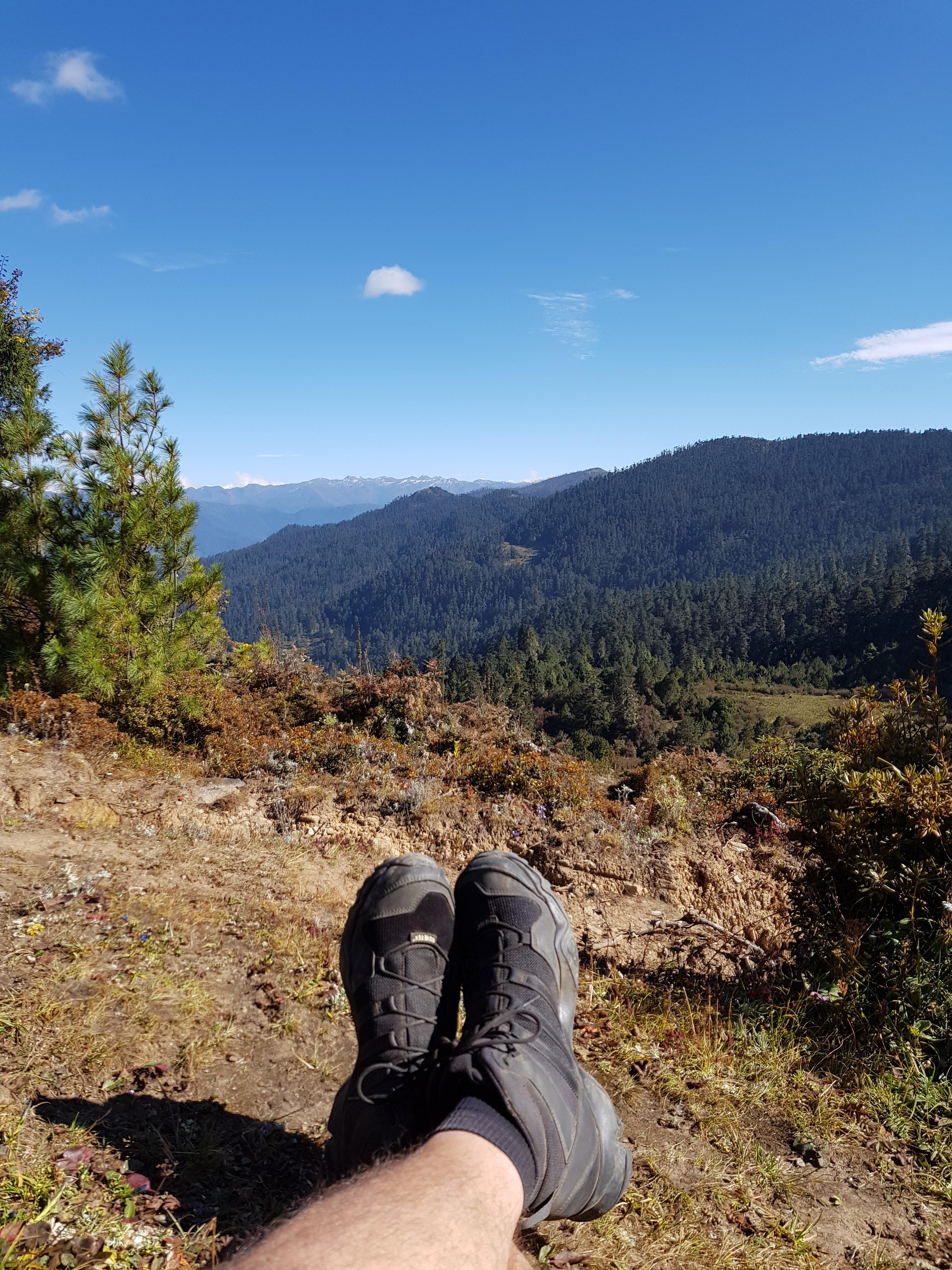 bhutan trek landscape