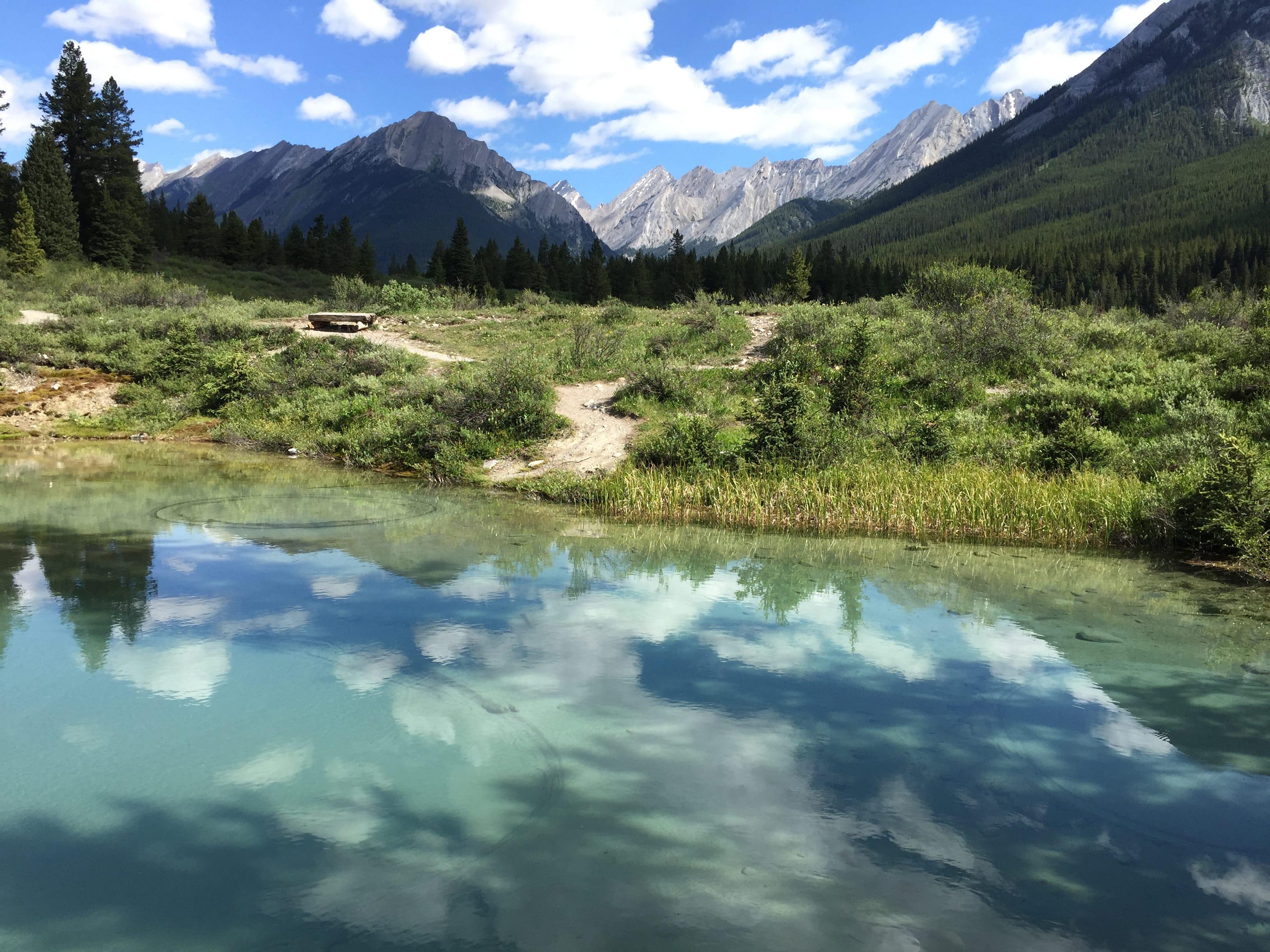Yamnuska Hiking 7-min