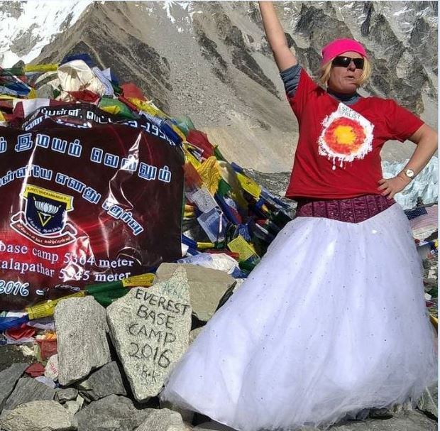 everest base camp challenge participant