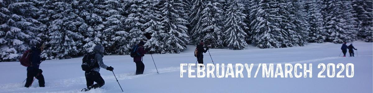 trekking romania winter