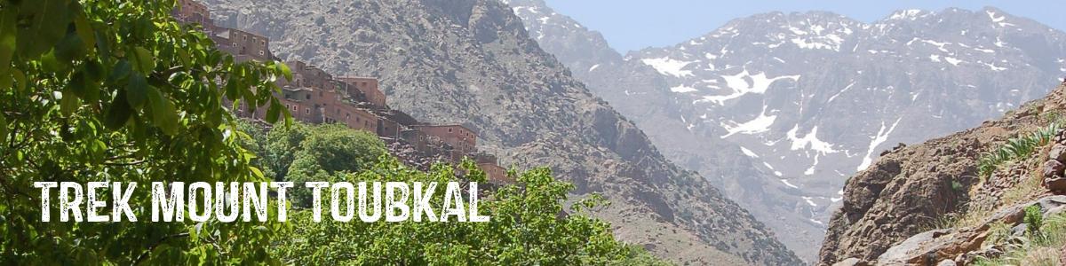 TREK MOUNT TOUBKAL