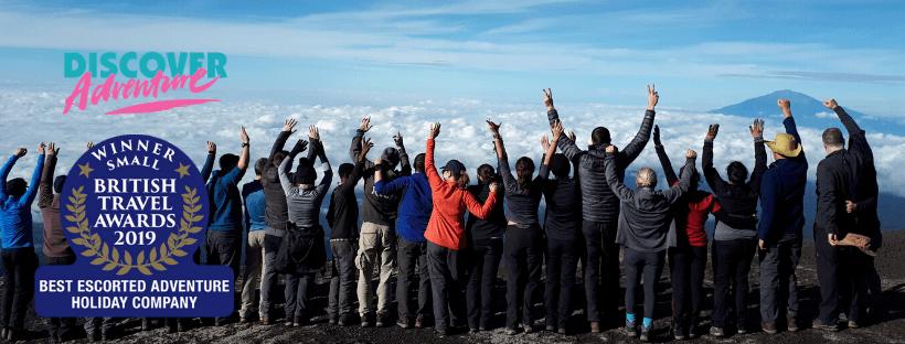 discover adventure british travel awards 2019
